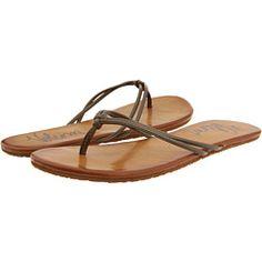 volcom flip flops