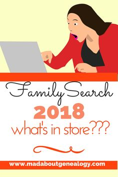 What does FamilySearch have in store for our family history in 2018? The answer to that is some pretty amazing genealogy improvements - 2018 is going to be THE year to dig down deep into your family history and start using all the genealogy resources this wonderful free website offers. Come along to www.madaboutgenealogy.com and I'll tell you more!