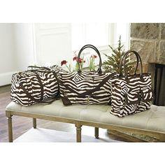 Zebra Travel Collection, fun!