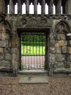 RDS, Abbey outside Holyrood Palace, Edinburgh, Scotland