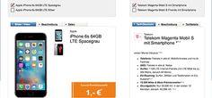 Apple iPhone 6s (64GB) für 1€ mit Telekom Magenta Mobil S ab 39,95€ http://www.simdealz.de/telekom/apple-iphone-6s-mit-telekom-lte-tarif/