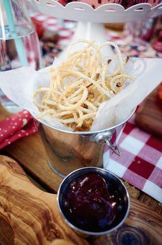 Crispy Spiralized Potato Nests Recipe by Giada De Laurentiis