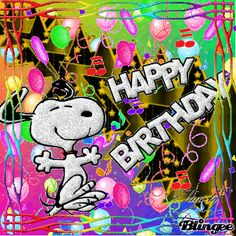 New Snoopy Birthday Images Ideas Happy Birthday Snoopy Images, Peanuts Happy Birthday, Happy Birthday For Him, Happy Birthday Celebration, Birthday Wishes Quotes, Happy Birthday Greetings, Funny Birthday, Snoopy Pictures, Snoopy And Woodstock