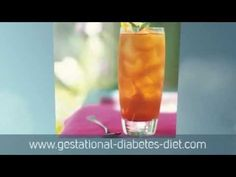 Iced Lemon With Tea - gestational diabetes recipe