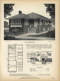 1000 ideas about vintage house plans on pinterest for Ranch home progetta planimetrie