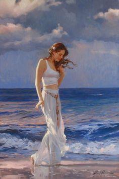 O Mar - Pinyura de Richard S. Johnson - USA