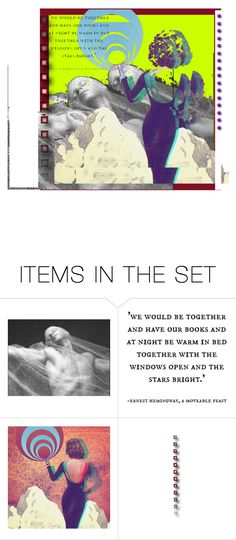 """I Wish it Would Rain Down"" by lablanchenoire ❤ liked on Polyvore featuring art"