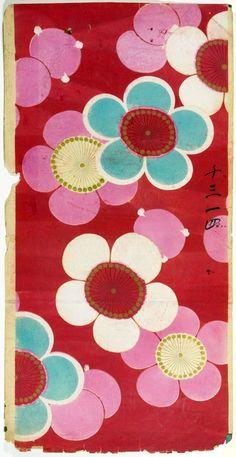 "boudhabar:  ""Japanese Textile Design  """