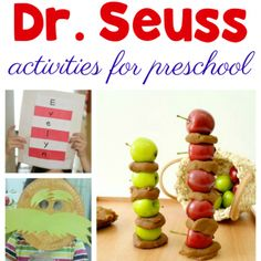20+ Dr. Seuss Activities for Preschool Kids to Enjoy