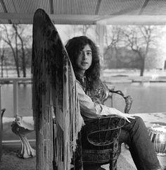 Led Zeppelin - Jimmy Page, 1972. (Taken from Pop Magazine)