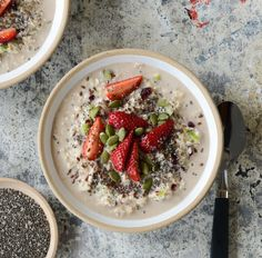 I LOVE having bircher muesli for breakfast, bircher muesli is usually left to soak overnight to helo soften, however here's a recipe for an instant version.