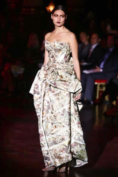 Frank Sorbier Couture Fall Winter 2014 Paris - NOWFASHION