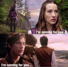 """Alice and Cyrus's saying. Like Snow White's and Prince Charming's is """"I will always find you"""""""