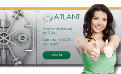 You want to Invest and Earn? Then Sign up and Let's Start Earning   http://atlant.cc/?ref=bOSsmarie