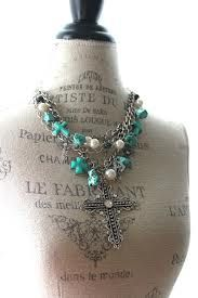 Cross necklace, gypsy cowgirl