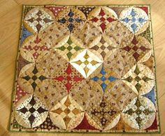 Miniature Quilts Photo Gallery: Glorified Nine Patch in the Country Quilt