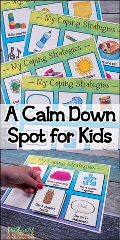 This calm down spot has everything you need to set up your own calm down or chill out spot in the classroom. This is so important for kids with social and emotional challenges who need a safe and calming place to go when emotions are overwhelming. Classroom Behavior, Special Education Classroom, Classroom Management, Space Classroom, Counseling Activities, Therapy Activities, Emotions Activities, Calming Activities, Articulation Activities