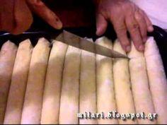 Μπακλαβάς Γιαννιώτικος - YouTube Oriental Food, Oriental Recipes, Greek Pastries, Confectionery, Sweets, Cooking, Desserts, Christmas, Kitchens
