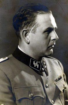Portrait of Untersturmführer Amon Göth, 1941-1943