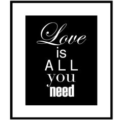 Love Is All You Need  8 x 10 Print with Inspirational by Tessyla, $20.00