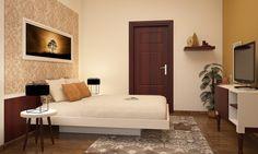 5 Design Ideas For Your Elderly Parents Bedroom 646232 Small Apartment Design, Apartment Interior Design, Minimalist Bedroom, Minimalist Home, Bedroom Floor Tiles, Parents Room, Contemporary Interior Design, Furniture Arrangement, Small Rooms