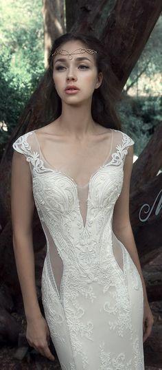 Milva Bridal Wedding Dresses 2017 Albena3 / http://www.deerpearlflowers.com/milva-wedding-dresses/8/