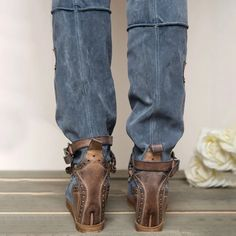Wedge Belt Buckle Over Knee Boots Knee High Boots Sale, Long Boots, Mid Calf Boots, Over The Knee Boots, Flat Heel Boots, Suede Boots, Winter Heels, Buckle Boots, Fashion Boots