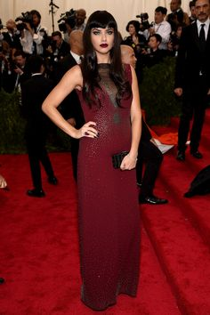 Adriana Lima - Met Gala 2015 Fashion: Live from the Red Carpet