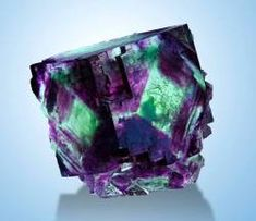 Fluorite crystal from Okoruso Mine, Otjiwarongo District, Namibia. Minerals And Gemstones, Rocks And Minerals, Rare Gems, Beautiful Rocks, Mineral Stone, Rocks And Gems, Stones And Crystals, Summer Street, Nature