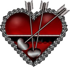 """Photo from album """"valentine"""" on Yandex. Valentine Heart, Happy Valentines Day, Heart Never, Red Feather, Heart Images, Heart With Arrow, Deco, Clip Art, Hearts"""