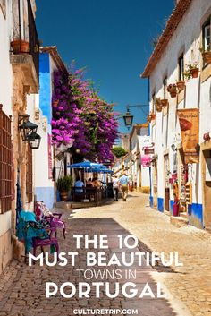 The 10 Most Beautiful Towns In Portugal|Pinterest: @theculturetrip