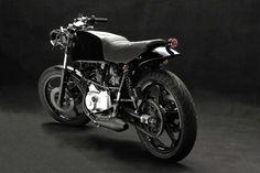 Cagiva Alazzurra by Venier Custom Motorcycles (Venier Sputafuoco 350)