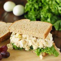 """Traditional Southern Chicken Salad - 2 """"secret"""" ingredients make it extra delicious!"""