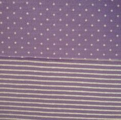 Fashion Knit Fabric- Reversible Knit Stripe Dot Purple at Joann.com