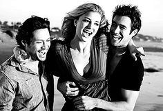Jack, Emily (Rebecca) & Daniel. <3