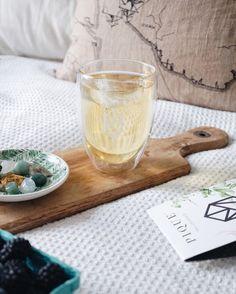 An Ode To Tea (Crystals) + Green Tea Smoothie Recipe | Breakfast Criminals