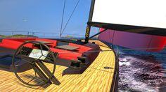 La barca a vela con tuga a mosaico di Marco Ferrari e Alberto Franchi - Elle…