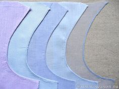 Edge finishes and seam tutorial Good pictures and google translate