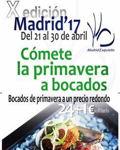 #Welcome #MadridExquisito2017  #SaldeHielo en uno de los #Eventos #Gastronómicos de referencia a nivel #Internacional  No pierdas la #oportunidad de #degustar un auténtico #lujo a un #precio #excepcional ... y con un #sabor #Solidario :  con tu #Menú contribuyes a la gran labor #benéfica de #MensajerosdelaPaz  ¡Reserva ya! saldehielo.es/blog/madrid-exquisito-en-sal-de-hielo/ #exquisito #madrid #restaurante  #food #foodies #gastro #deliciosos #gourmet #delicatessen