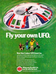 Starcruiser UFO Ad (Cox, 1979)