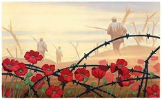 FOR THE FALLEN by Laurence Binyon With proud thanksgiving, a mother for her children, England mourns for her dead across the sea. Flesh of her flesh they were, spirit of her spirit, Fallen in the. Remembrance Day Drawings, Remembrance Day Images, Remembrance Day Activities, Remembrance Day Poppy, Ww1 Art, Armistice Day, Poppies Tattoo, Flanders Field, Anzac Day