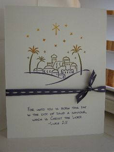 Simple City of David by joanehartman - Cards and Paper Crafts at Splitcoaststampers