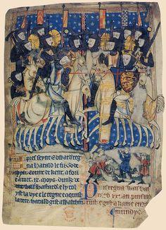 Manuscript of XIII BC Battle of Hastings - Angelsaksisk litteratur - Wikipedia