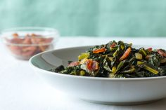 Recipe: Braised Bacon and Kale — Recipes from The Kitchn - Hifow - http://howto.hifow.com/recipe-braised-bacon-and-kale-recipes-from-the-kitchn-hifow/