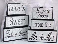 Sweet Table Candy Bar Wedding Sign by SignsoftheSeason on Etsy