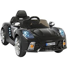 Ride On Car Kids W/ Electric Battery Power Remote Control RC Black - Ride On Toys & Accessories Jaguar Xk, Kids Ride On, Ride On Toys, Lead Acid Battery, Radio Control, Electric Cars, Electric Vehicle, Childcare, Remote
