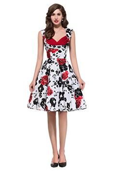 Women Vintage Floral Sleeveless Cotton Party Dresses with Pockets (XL) JS Fashion Vintage Dress http://www.amazon.com/dp/B00XBU548E/ref=cm_sw_r_pi_dp_0wB9vb0HE0JXF