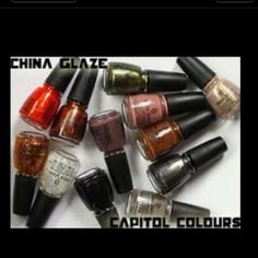 Hunger Games nail polish?! Why yes I'd love some....as a matter of fact, I'm wearing some now!