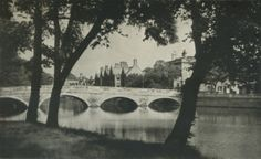 An extremely old photo, yet it still looks the same. My home town of Bedford, England.