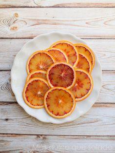 Naranja sanguina caramelizada